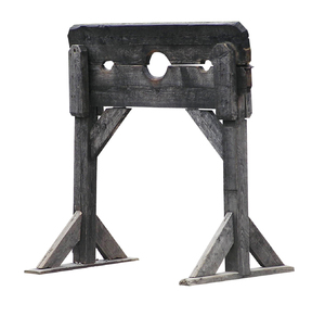 Stocks: Medieval torture tools of Trokai, Lithuania. Stocks are devices used internationally, in medieval, Renaissance and colonial American times as a form of physical punishment involving public humiliation. The stocks partially immobilized its victims...