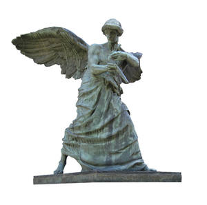 Angel: An angel statue from Vilnius cemetery.
