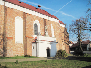 Church in Tarczyn: An old Church of Saint Nicholas in Tarczyn, Poland.