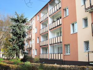 Block of flats: Block of flats in Warsaw, Poland