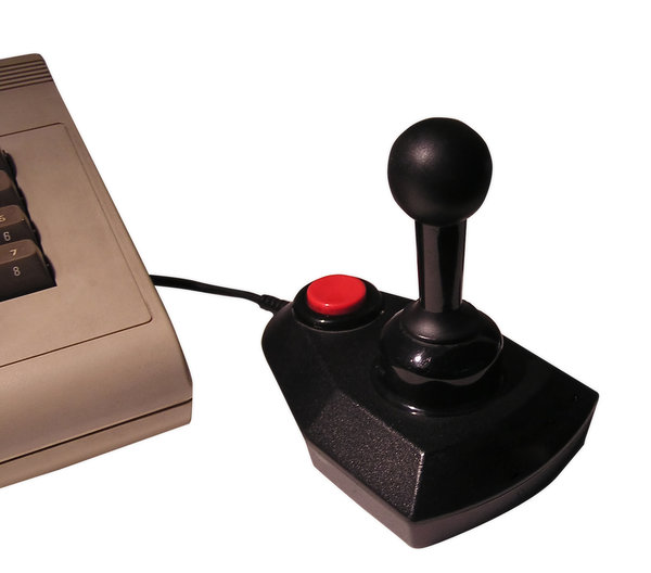 Joystick: A joystick and a computer. Old school gaming. Mail me if you decide to use it. Just let me know!