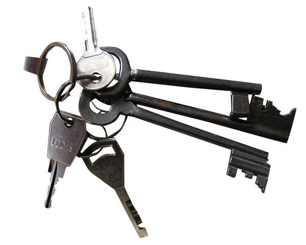Keys: Bundle of keys.