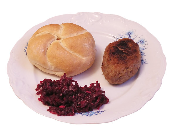 Frikadeller: Kotlet mielony (Polish version of Frikadeller).