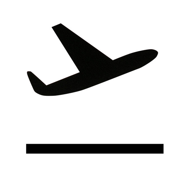 Bildergebnis für flugzeug symbol landung