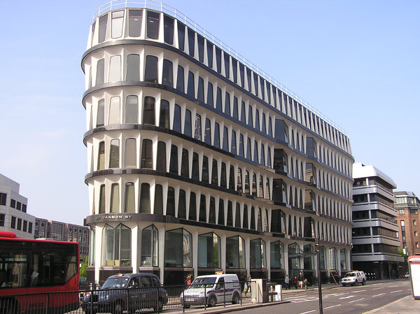 30 Cannon Street: A modern building, 30 Cannon Street, London.