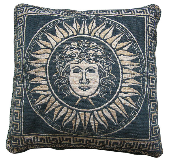 Pillow: A nicely decorated pillow.