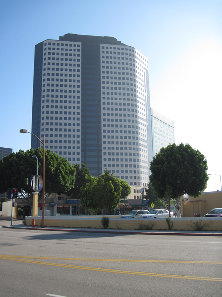 Office building: An office building in West Hollywood.