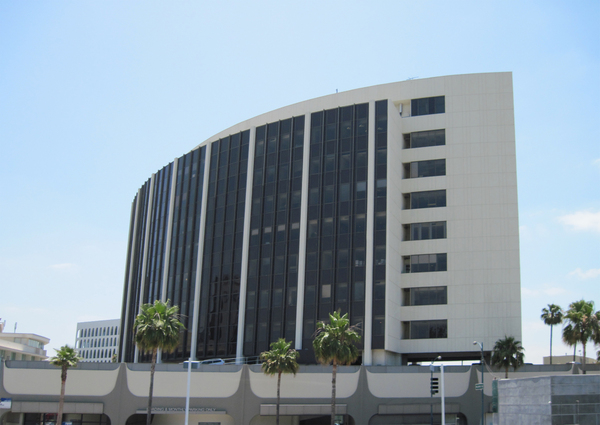 Office building: An office building in Beverly Hills