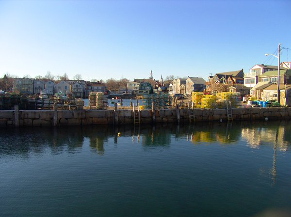 Working Seaport: Rockport, MA is a working seaport for the seafood industry and wonderful views of the sea