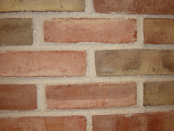 brick closeup: closeup of brick wall
