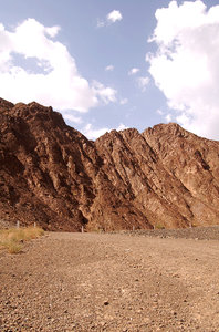Desert Rock: Masafi Mountain in Hatta, Oman
