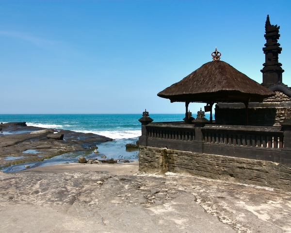 Tanah Lot Temple 2: This is ancient Hindu Tanah Lot Temple on Bali island, Indonesia. The pic prepared to be your computer wallpaper. Any comments make me happy :)