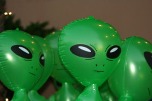 We Are Not Alone: Aliens all blown up