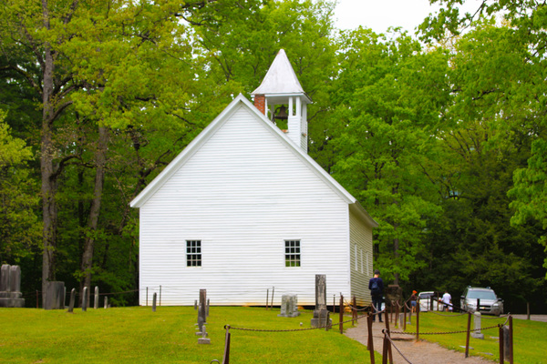 Old Church: An old church located in the Smoky Mountains