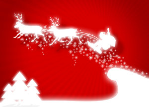 Christmas is comming .. now!: Christmas illustration