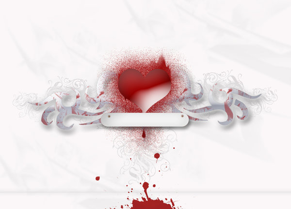 Bleeding Love: A broken heart?