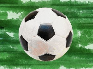 Soccer Ball: Soccer ball clipart illustration.