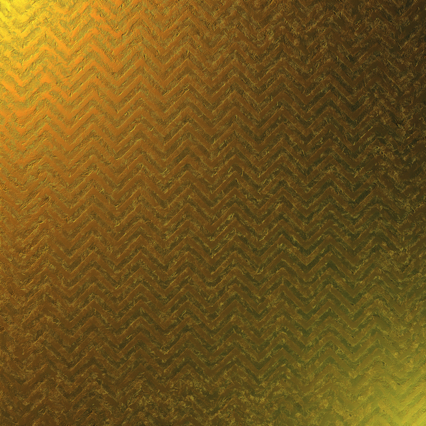 Gold Chevrons: Gold zig zag abstract patterned texture.