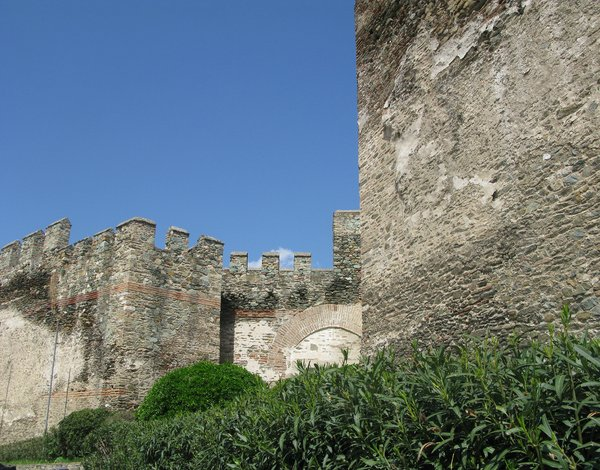 Thessaloniki castle: History places