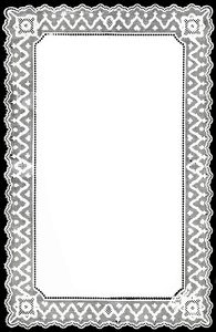English Lace Border #2: Nottingham Paper Lace