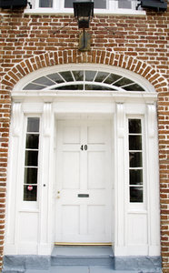 Charleston Doors: Doors and windows representing different periods of architecture in Charleston, South Carolina