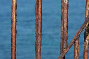 Oxidized balcony to the ocean: Oxidized balcony to the ocean