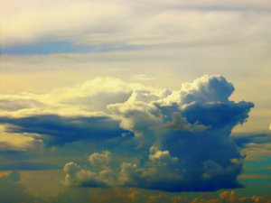 Ernesto!: Some formations at the beginning of Hurricane Ernesto, viewed while I was in LaBelle, Florida.