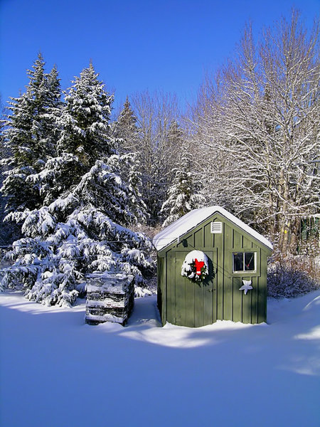 Maine Winter: A beautiful winter scene. Thanks to my friend Vern for providing these!