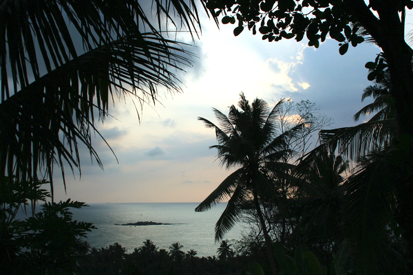 Tropical Evening: As viewed from Unawatuna, Sri Lanka