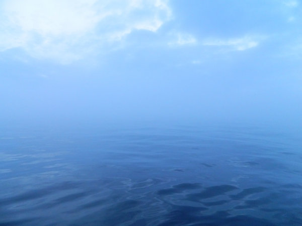 WaterSky: Taken somewhere near the Philippines. The horizon has disappeared!