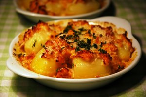 Potatoes gratin: Potatoes gratin