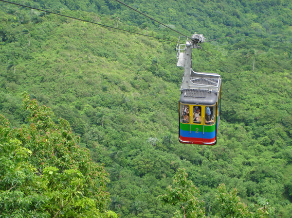 Chair Lift: Dominican Republic