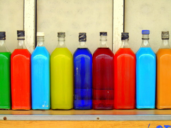Colorful Bottles: http://www.scottliddell.n ..