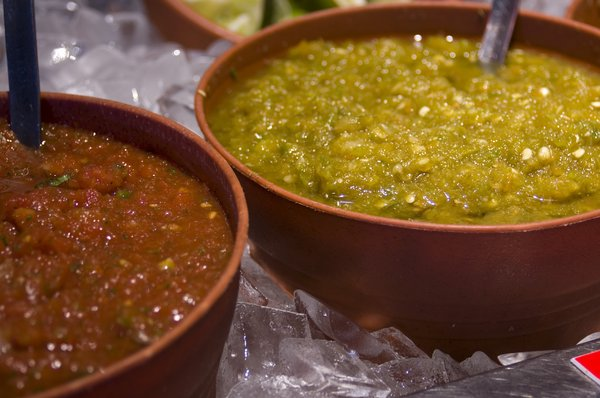 Salsa: Shots of a salsa bar