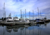 Yacht Cruise views 1: late afternoon pics of yachts and harbor area in Richards Bay