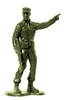 Plastic Army Man 1: Plastic toy soldier