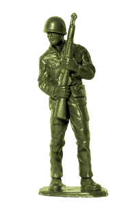Plastic Army Man 4: Plastic toy soldier