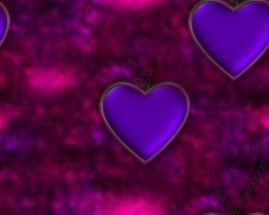 heart background: Heart background