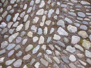 Texture - Cobbles: An interesting texture - this particular photo is from rural Cumbria in the UK.