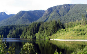 Capilano Park & Reservoir, Bri: Capilano River Regional Park is located in the District of North Vancouver in British Columbia, Canada. It is one of twenty-one regional parks operated by the Greater Vancouver Regional District (GVRD). The park encompasses most of the upstream areas of t
