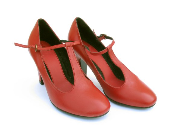 RED SHOE 5: Red Shoes from different angles.