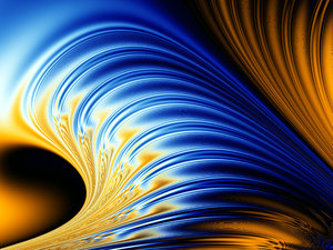 Glowing Wave: Glowing Wave.My other fractals:http://www.sxc.hu/browse. ..