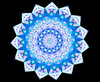 light blue lace mandala: abstract backgrounds, textures, patterns, geometric patterns, kaleidoscopic patterns, circles, shapes and perspectives from altering and manipulating image