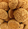 almond cookies: small sweet almond biscuits