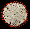 African beaded doily3: handcrafted decorated protective tableware