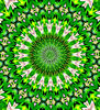 green garden mandala2: abstract background, textures, patterns, geometric patterns, shapes and perspectives from altering and manipulating images