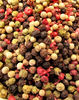 bowl of mixed peppercorns2: medley of peppercorn varieties