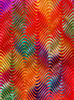 rainbow waves: abstract multicolored wavy background, textures, patterns, geometric patterns, shapes and perspectives