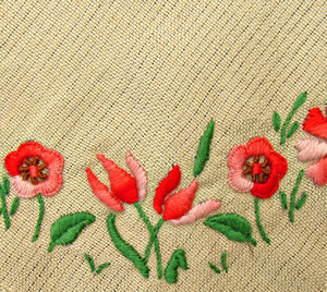 embroidery: examples of embroidery and needlework