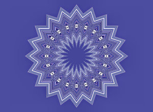 blue sky star vibrations: abstract backgrounds, textures, patterns, geometric patterns, kaleidoscopic patterns, circles, shapes and perspectives from altering and manipulating image